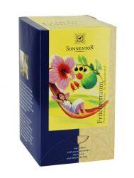 Gyümölcsvarázs tea, adagoló dobozos, bio, Sonnentor (45g)