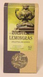 Zöldtea lemongras, dobozos, bio, Sonnentor (90 g)