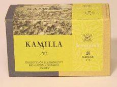 Kamilla tea, filteres, adagoló dobozos, bio, Sonnentor (20 db)