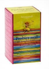 Kóstolj meg tea, adagoló dobozos, bio, Sonnentor (30,2g) (20 féle teafiltert tartalmaz)