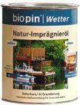 Természetes gyanta impregnáló olaj, színtelen, Biopin (0,75 l)