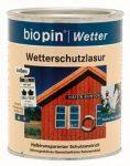 Időjárásálló lazúr, Biopin (0,75 l)