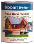 Természetes univerzális lakk, színtelen, Biopin (0,75 l)