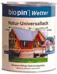 Természetes univerzális lakk, színtelen, Biopin (2,5 l)