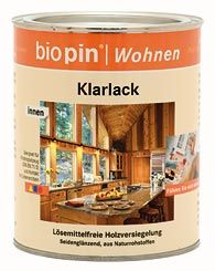 Bútorlakk, színtelen, Biopin (0,375 l)