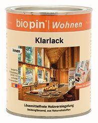 Bútorlakk, színtelen, Biopin (0,75 l)