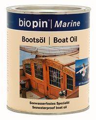Hajóolaj, színtelen, Biopin (0,375 l)