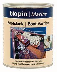 Hajólakk, színtelen, Biopin (0,375 l)