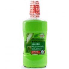 Szájvíz bioaktív aloe verával, Dr. Organic (500ml)