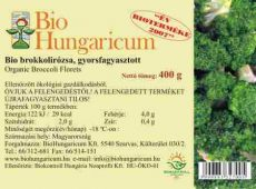 Brokkoli rózsa, fagyasztott, bio, BioHungaricum (10 kg)