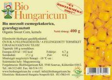 Csemegekukorica, fagyasztott, bio, BioHungaricum (10 kg)
