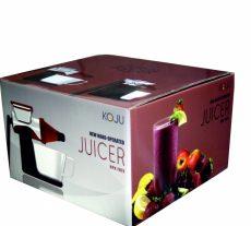 Kézi búzafű- és gyümölcsprés, BPA mentes, züld, Koju