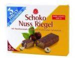 Csokis mogyorós szelet, gluténmentes, 3Pauly (3*25g)