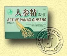Aktív panax ginzeng kapszula, Dr. Chen patika (30 db)
