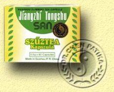 Szűztea kapszula (Jiangzhi Tongshu San), Dr. Chen patika (80*500mg)