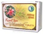 C-vitamin tabletta csipkebogyó kivonattal, Dr. Chen patika (80*1200mg)