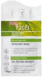 FACES arcmaszk, mentás, zsíros bőrre, Lavera (10ml)