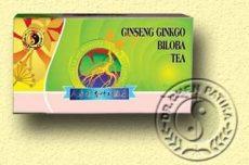 Ginseng gingko és zöldtea keverék, filteres, Dr. Chen patika (20 db- os)
