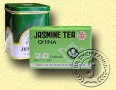 Kínai jázmin tea fémdobozban, Dr. Chen patika (120g)