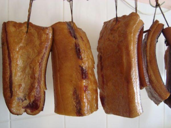 Mangalica füstölt szalonna, bio, Hubai Kft (HU)