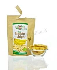 Banánchips, bio, Biorganik