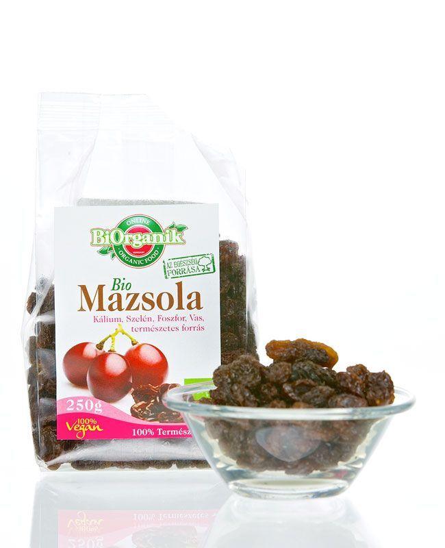 Mazsola, bio, Biorganik